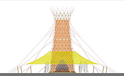 Warka Water Main View Front, Copyright: Arturo Vittori / Architecture and Vision