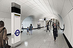 Tailor-made LED lighting for London's Crossrail project