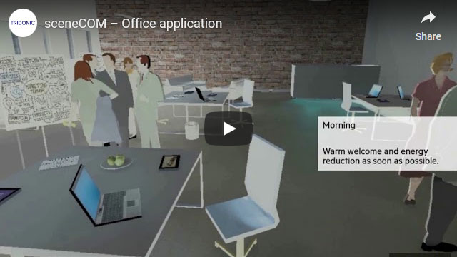 sceneCOM video – Office application